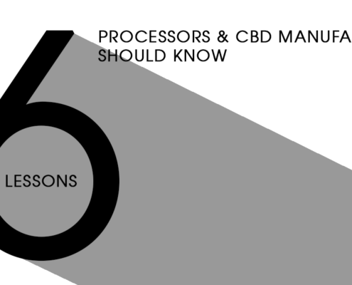 During a presentation at MjBizCon 2018, Dr. Sharma shared six lessons that processors and manufacturers of CBD products should know from her past experience in purification and current role deep inside the manufacturing and processing side of CBD.