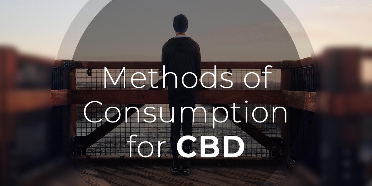 Methods of Consumption & CBD Oil & Tinture uses - Smoking CBD Oil