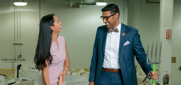 Dr Priyanka Sharma and Mr Pulak Sharma