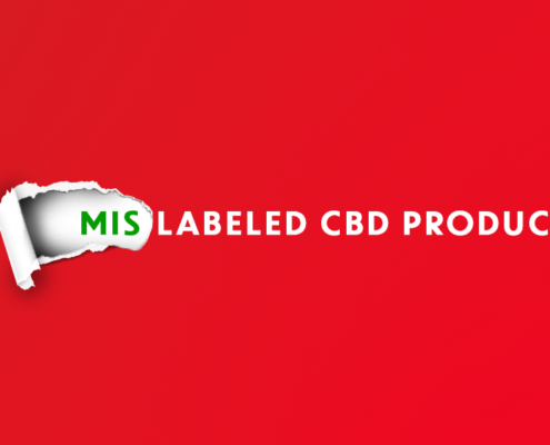 Mislabeled CBD Products