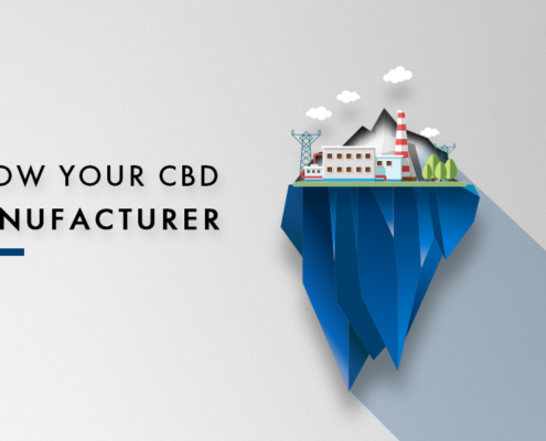 Know Your CBD Manufacturer