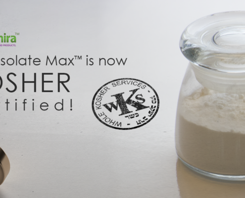 CBD Isolate Max™️ is now Kosher Certified!