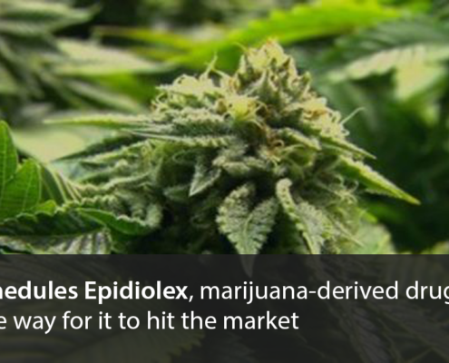 DEA reschedules Epidiolex paving the way for it to hit the market