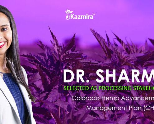 Dr. Sharma Chosen As Processing Stakeholder for CHAMP - Kazmira LLC