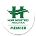 Hemp Industries Association - HIA logo for Kazmira's website
