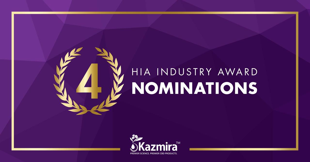 Kazmira and Dr. Sharma Nominated for 2019 HIA Industry Awards